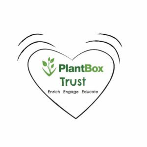 Heart logo for PlantBox Trust charity