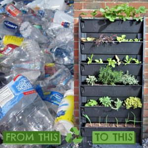 PlantBox is made from 100% recycled materials
